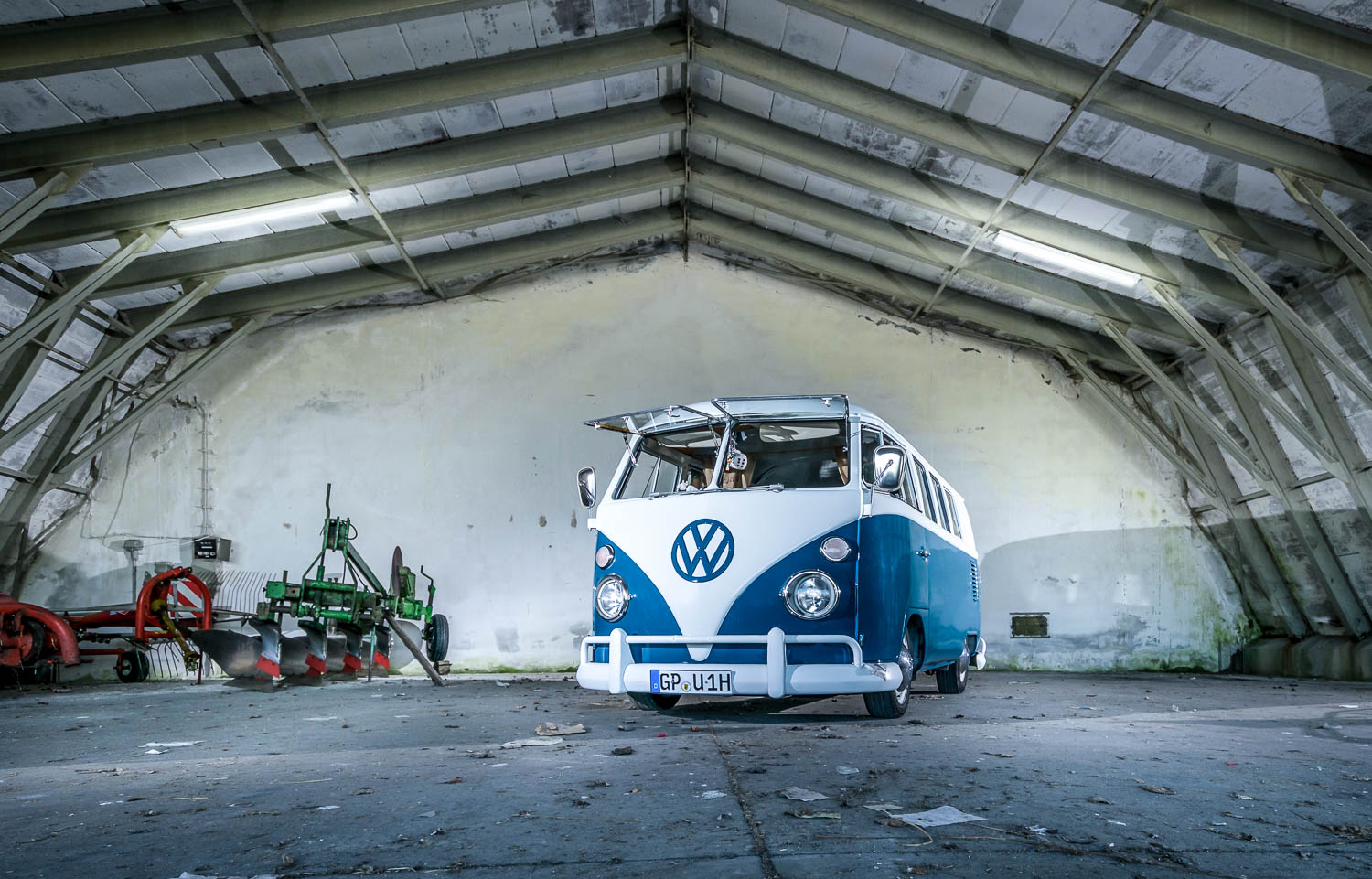 VW Bus T1 Oldtimer Shooting in Leipheim